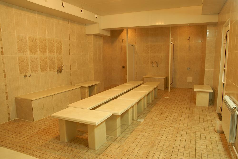 Женское отделение в общественной бане